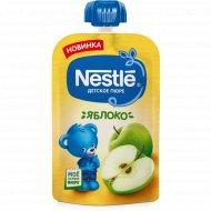 Пюре «Nestle» яблоко, 4+, пауч, 90 г.