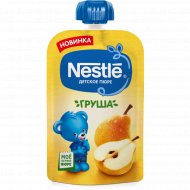 Пюре «Nestle» груша, 4+, пауч, 90 г.