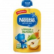 Пюре «Nestle» груша-яблоко, 5+, 90 г.