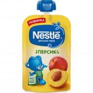 Пюре «Nestle» персик, 4+, пауч, 90 г.