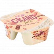 Пудинг молочный «Ehrmann Grand Twist» Белый шоколад, 5.4%, 120+18 г.
