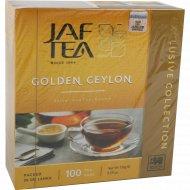 Чай «JAF TEA» Golden Ceylon черный, 100 пакетиков, 150 г.