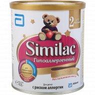 Сухая смесь гипоаллергенная 2 «Similac» 6-12 месяцев, 400 г.