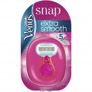 Женская бритва «Gillette Venus» Snap Embrace + сменная кассета, 1 шт.