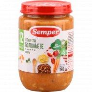 Пюре «Semper» спагетти болоньезе, 190 г.