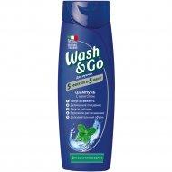 Шампунь для всех типов волос «Wash&Go» с ментолом, 400 мл