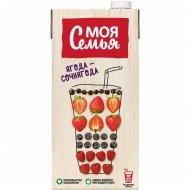 Напиток сокосодержащий «Моя семья» ягода-сочная ягода, 1.93 л