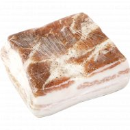 Грудинка свиная «Деревенская» соленая, охлажденная, 1 кг., фасовка 0.95-1.05 кг