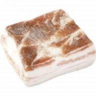 Грудинка свиная «Деревенская» соленая, охлажденная, 1 кг., фасовка 0.35-0.5 кг