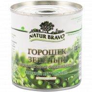 Горошек зеленый «Natur Bravo» из мозговых сортов, 210 г.