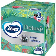 Салфетки бумажные «Zewa» ароматизированные, трехслойные, 60 шт.