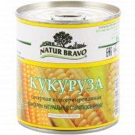 Кукуруза сахарная «Natur Bravo» консервированная, 220 г.