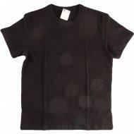Фуфайка мужская «T-Shirt» черная.