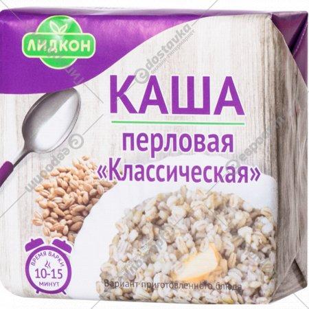 Каша перловая «Лидкон» Классическая, 180 г.