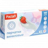 Перчатки виниловые «Paclan» размер XL, 100 шт.