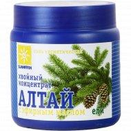 Соль «Хвойный концентрат Алтай» с эфирным маслом ели, 700 г.