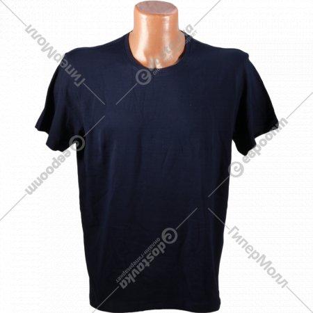 Фуфайка мужская «T-Shirt» темно-синий.