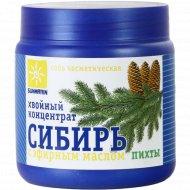 Соль «Хвойный концентрат Сибирь» с эфирным маслом пихты, 700 г.