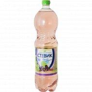 Напиток газированный безалкогольный «Стевик» черная смородина, 1.5 л