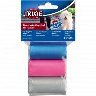 Одноразовые пакеты «Trixie» для уборки за собаками, 3 рулона.