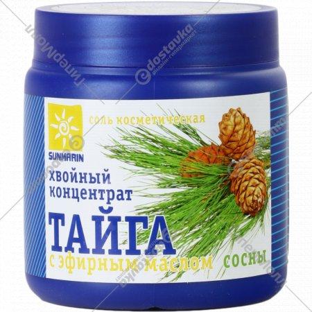 Соль «Хвойный концентрат Тага» с эфирным маслом сосны, 700 г.