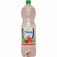 Напиток газированный безалкогольный «Стевик» клюква, 1.5 л