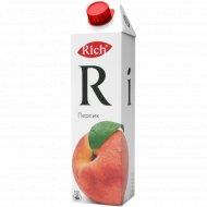Нектар «Rich» персиковый с мякотью 1 л.