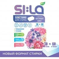 Пластинки для стирки «SI:LA» Eco, цветочный букет, 30 шт