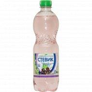 Напиток газированный безалкогольный «Стевик» черная смородина, 0,5 л
