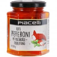 Красный перец пепперони «Piacelli» фаршированный, 280 г.