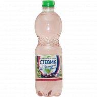 Напиток газированный безалкогольный «Стевик» черноплодная рябина, 0.5 л