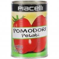 Томаты целые очищенные «Piacelli» консервированные, 400 г.