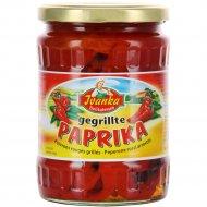 Обжареный красный перец «Piacelli» в рассоле, 540 г.