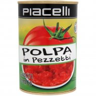Томаты резаные «Piacelli» стерилизованные консервированные, 400 г.
