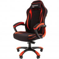 Компьютерное кресло «Chairman» Game 28, красно-черное