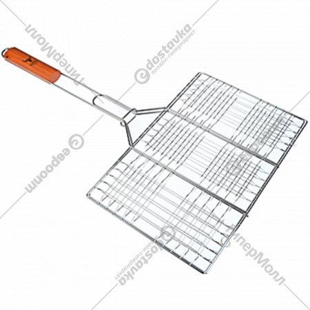 Решетка-гриль металлическая с антипригарным покрытием 31.3x24.5x65.