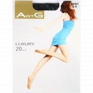 Колготы женские «ArtG» Luxury nero, 20 den.
