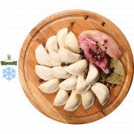 Пельмени домашние со свининой и курицей, замороженные, 400  г