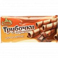 Вафельные трубочки с начинкой «Шоколадные» 180 г.