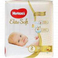Подгузники «Huggies» Elite Soft размер 2, 3-6 кг, 88 шт.