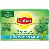 Чай зелёный «Lipton» марроканская мята, 25 пакетиков.