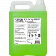 Средство для мытья стекол «Brilless green apple» 5 л.