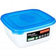 Емкость для СВЧ ««Polar» Micro Wave» квадратная, голубая, 0.46 л.