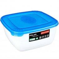 Емкость для СВЧ ««Polar» Micro Wave» квадратная, голубая, 1.5 л.