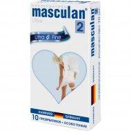 Презервативы «Masculan» 2 ultra/