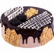 Торт «Шоколадно-банановый» 1 кг.