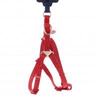 Шлея для собак «Trixie Premium One Touch harness» красный, XS-S