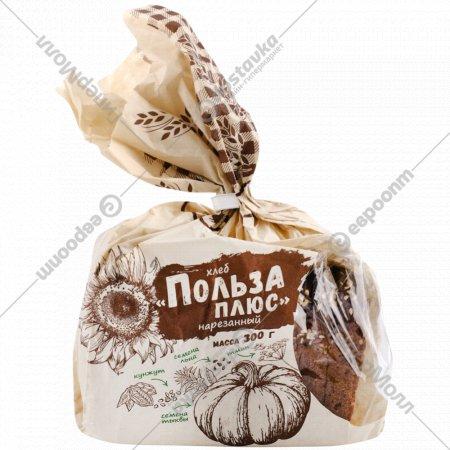 Хлеб «Польза плюс» нарезанный, 300 г.