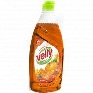 Средство для мытья посуды «Velly» сочный мандарин, 500 мл.