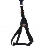 Шлея для собак «Trixie Premium One Touch harness» черный, XS-S